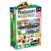 Montessori - Moje první puzzle - Město