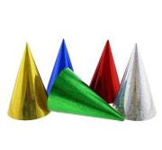 Čepičky párty metalické 3 ks