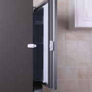 Zámek ledničky white/grey