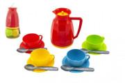 Sada nádobí na čaj plast 13 ks