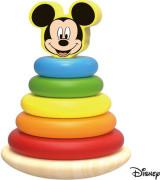 Disney Dřevěná pyramida velká Mickey Mouse
