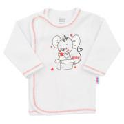 Kojenecká košilka New Baby Mouse bílá