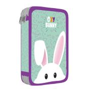 Penál 2 patrový prázdný Oxy Bunny