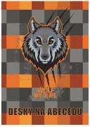 Desky na abecedu vlk