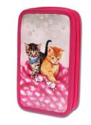 Školní penál 2-patra CATS & MICE plněný Emipo