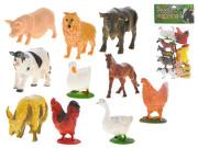 Zvířátka farma 9-10 cm 12 ks