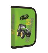 Penál 1 patrový 2 chlopně, prázdný Traktor