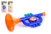 Trumpeta plast malá 24 cm