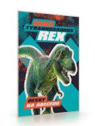 Desky na abecedu Premium Dinosaurus