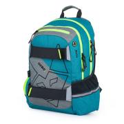 Studentský batoh OXY Sport Fox azure