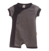 Overal letní kojenecký MKcool Tmavě modrá krátký rukáv/nohavice