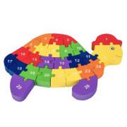 3D Puzzle - Želva s písmenky Viga