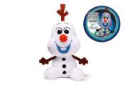Sněhulák Olaf plyšový 30 cm svítící ve tmě Ledové království II