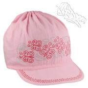 Letní dívčí kšiltovka Motýlci Růžová RDX