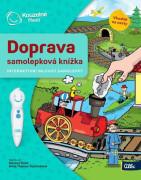 ALBI Kouzelné čtení Samolepková knížka Doprava