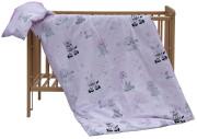 Dětské povlečení 2dílné Scarlett Zebra - růžová 100 x 135 cm