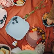 Hranatý talíř 2 ks Mushie