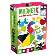 HEADU: Montessori magnetické výtvory
