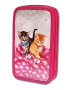 Školní penál 2-patra CATS & MICE prázdný Emipo