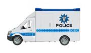 Auto policie 28 cm na setrvačník na baterie se zvukem se světle