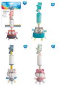 Plyšová hračka se zvonečkem a klipem PASTEL FRIENDS Canpol