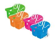 Houpačka plastová pro nejmenší 1 - 3 roky