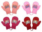 Dětské zimní rukavičky New Baby s motýlkem vel. 98