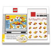 Zápisník s perem a stavebnicí LEGO Stationery Classic Kachny
