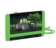 Dětská textilní peněženka traktor