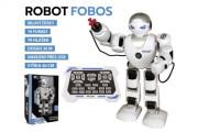 Robot RC FOBOS interaktivní chodící česky mluvící na baterie s USB 40 cm