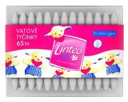 Vatové tyčinky Linteo Baby 65ks