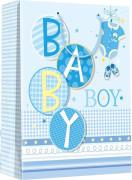 Dárková taška S - Baby boy 11,3 x 14,5 cm