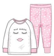 Pyžamo dívčí, Minoti Růžová - Obličej