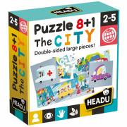 HEADU: Puzzle 8+1 Město