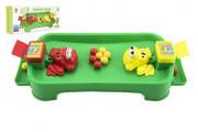 Hladové žáby plast společenská hra