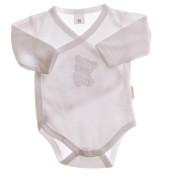 Body kojenecké dlouhý rukáv MKcool bílé