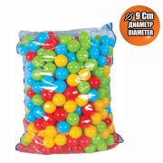 Plastové míčky 9 cm - 500 ks
