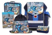 Školní batohový set ERGO TWO Roboman 5-dílný
