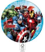 EKO papírové talíře - Avengers 23 cm/8 ks