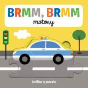 Svojtka BRMM, BRMM motory Knížka s puzzle
