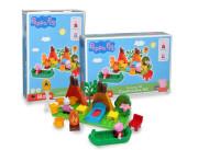 PlayBig BLOXX Peppa Pig Kempingová sada 25 ks