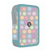 Penál 3 patrový prázdný OXY Style Mini Dots
