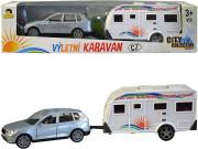Auto s karavanem 26 cm