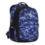 Studentský batoh 2v1 VIKI Crystal blue