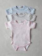 Body krátký rukáv melír Baby Service vel. 68