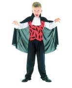 Karnevalový kostým - Upír, Vel. 120-130 cm