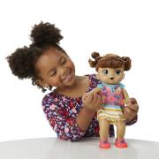 Baby Alive Tmavovlasá smějící se panenka