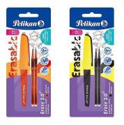 Gumovací pero Pelikan + 2ks náplně