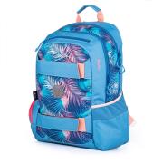 Studentský batoh OXY Sport flowers