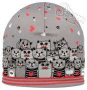 Dívčí funkční čepice Kočky RDX